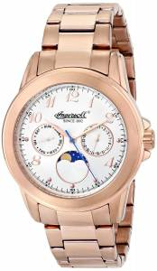 [インガソール]Ingersoll 腕時計 Gresham Analog Display Japanese Quartz Rose Gold Watch INQ020WHRS メンズ [並行輸入品]