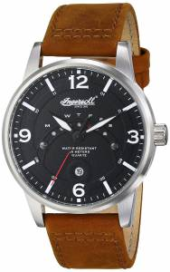 [インガソール]Ingersoll 腕時計 Marlborough Analog Display Japanese Quartz Brown Watch INQ026BKBR メンズ [並行輸入品]