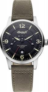 [インガソール]Ingersoll 腕時計 Marlborough Analog Display Japanese Quartz Grey Watch INQ026BKKH メンズ [並行輸入品]