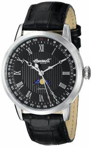 [インガソール]Ingersoll 腕時計 Oxford Analog Display Japanese Quartz Black Watch INQ027BKSL メンズ [並行輸入品]