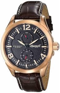 [インガソール]Ingersoll 腕時計 Wellington Analog Display Japanese Quartz Brown Watch INQ028BRRG メンズ [並行輸入品]