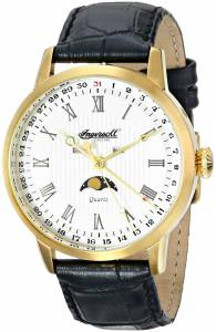 [インガソール]Ingersoll 腕時計 Oxford Analog Display Japanese Quartz Black Watch INQ027WHGD メンズ [並行輸入品]