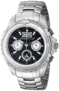 [モーメンタム]Momentum 腕時計 D6 Chrono Analog Display Japanese Quartz Silver Watch 1M-DV26B0 メンズ [並行輸入品]