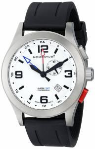 [モーメンタム]Momentum 腕時計 Vortech GMT Analog Display Swiss Quartz Black Watch 1M-SP58L1B メンズ [並行輸入品]