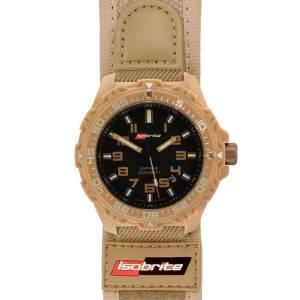 [アーマーライト]Armourlite Isobrite T100 Valor Series Tan/Black Watch Nylon & Velcro ISO314