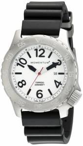 [モーメンタム]Momentum 腕時計 TORPEDO Analog Display Japanese Quartz Black Watch 1M-DV74L1B メンズ [並行輸入品]