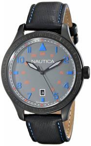 [ノーティカ]Nautica 腕時計 BFD 105 Date Analog Display Japanese Quartz Black Watch N11110G メンズ [並行輸入品]