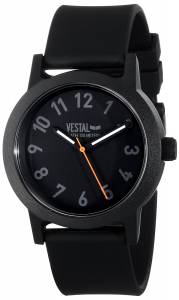 [ベスタル]Vestal 腕時計 Alpha Bravo Plastic Analog Display Japanese Quartz Black Watch ALP3P04 メンズ [並行輸入品]