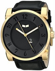 [ベスタル]Vestal 腕時計 Doppler Analog Display Japanese Quartz Black Watch DOP014 メンズ [並行輸入品]