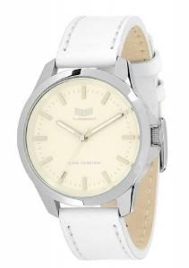 [ベスタル]Vestal 腕時計 Heirloom Leather Analog Display Japanese Quartz White Watch HER3L06 メンズ [並行輸入品]