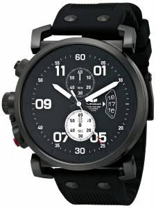 [ベスタル]Vestal 腕時計 USS Observer Chrono Analog Display Japanese Quartz Black Watch OBCS011 メンズ [並行輸入品]