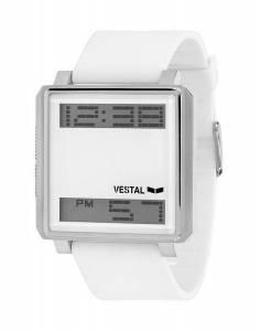 [ベスタル]Vestal 腕時計 Transom Digital Display Japanese Quartz White Watch TRADR05 メンズ [並行輸入品]