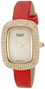 [バージ]Burgi 腕時計 Analog Display Swiss Quartz Red Watch BUR111RD レディース [並行輸入品]