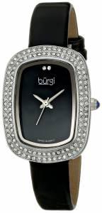 [バージ]Burgi 腕時計 Analog Display Swiss Quartz Black Watch BUR111SSB レディース [並行輸入品]