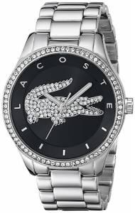 [ラコステ]Lacoste 腕時計 Victoria Analog Display Japanese Quartz Silver Watch 2000868 レディース [並行輸入品]