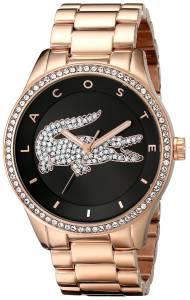 [ラコステ]Lacoste 腕時計 Victoria Analog Display Japanese Quartz Rose Gold Watch 2000871 レディース [並行輸入品]