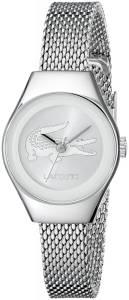 [ラコステ]Lacoste 腕時計 Valencia Mini Analog Display Japanese Quartz Silver Watch 2000877 レディース [並行輸入品]