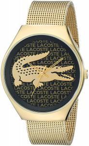 [ラコステ]Lacoste 腕時計 Valencia Analog Display Japanese Quartz Gold Watch 2000873 レディース [並行輸入品]