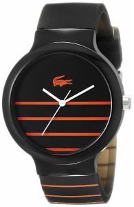 [ラコステ]Lacoste 腕時計 Goa Analog Display Japanese Quartz Black Watch 2020088 ユニセックス [並行輸入品]