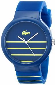 [ラコステ]Lacoste 腕時計 Goa Analog Display Japanese Quartz Blue Watch 2020089 メンズ [並行輸入品]
