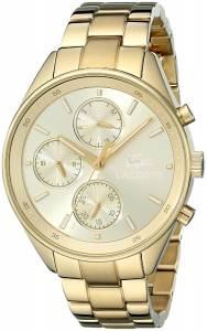 [ラコステ]Lacoste 腕時計 Philadelphia Analog Display Japanese Quartz Gold Watch 2000866 レディース [並行輸入品]