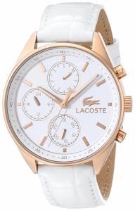 [ラコステ]Lacoste 腕時計 Philadelphia Analog Display Japanese Quartz White Watch 2000874 レディース [並行輸入品]