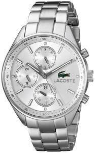 [ラコステ]Lacoste 腕時計 Philadelphia Analog Display Japanese Quartz Silver Watch 2000865 ユニセックス [並行輸入品]