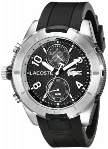 [ラコステ]Lacoste 腕時計 Tonga Analog Display Japanese Quartz Black Watch 2010759 メンズ [並行輸入品]