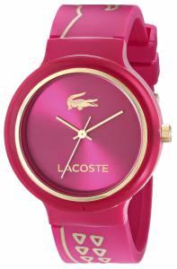 [ラコステ]Lacoste 腕時計 Goa Analog Display Japanese Quartz Red Watch 2020087 レディース [並行輸入品]
