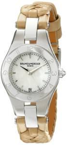 [ボーム&メルシエ]Baume & Mercier 腕時計 Linea Analog Display Quartz Beige Watch BMMOA10116 レディース [並行輸入品]