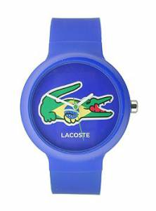 [ラコステ]Lacoste 腕時計 Goa Brazil Blue/Green Silicone watch 2020069 ユニセックス [並行輸入品]