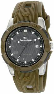 [フリースタイル]Freestyle Shark X AnalogDigital Display Japanese Quartz Green Watch 10016968