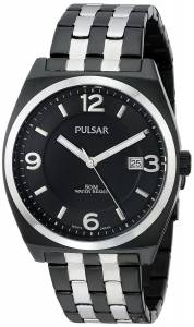 [パルサー]Pulsar 腕時計 Easy Style Collection Analog Display Japanese Quartz Black Watch PS9281 メンズ [並行輸入品]