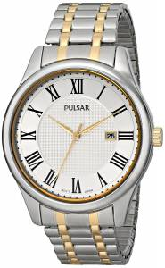 [パルサー]Pulsar  Traditional Collection Analog Display Japanese Quartz Silver Watch PH9041