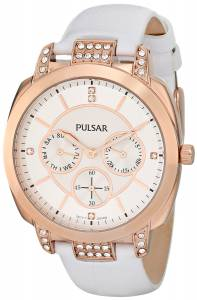 [パルサー]Pulsar 腕時計 Night Out Analog Display Japanese Quartz White Watch PP6134 レディース [並行輸入品]