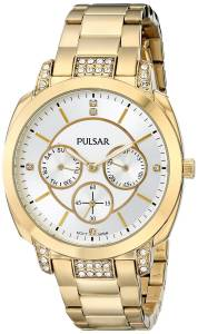 [パルサー]Pulsar 腕時計 Night Out Analog Display Japanese Quartz Gold Watch PP6136 レディース [並行輸入品]