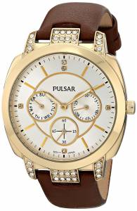 [パルサー]Pulsar 腕時計 Night Out Analog Display Japanese Quartz Brown Watch PP6138 メンズ [並行輸入品]