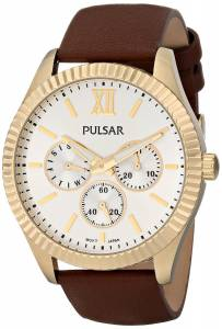 [パルサー]Pulsar 腕時計 Business Collection Analog Display Japanese Quartz Brown Watch PP6144 レディース [並行輸入品]