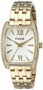 [パルサー]Pulsar 腕時計 Night Out Analog Display Japanese Quartz Gold Watch PH8096 レディース [並行輸入品]