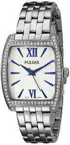 [パルサー]Pulsar 腕時計 Night Out Analog Display Japanese Quartz Silver Watch PH8095 レディース [並行輸入品]