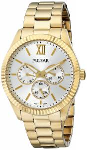 [パルサー]Pulsar 腕時計 Business Collection GoldTone Stainless Steel Watch PP6140 レディース [並行輸入品]
