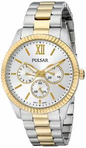 [パルサー]Pulsar  Business Collection Analog Display Japanese Quartz Silver Watch PP6142