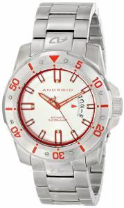 [アンドロイド]Android 腕時計 Pioneer Analog Display Automatic Self Wind Silver Watch AD683BR メンズ [並行輸入品]