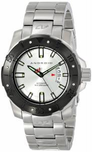 [アンドロイド]Android 腕時計 Pioneer Analog Display Automatic Self Wind Silver Watch AD683BKS メンズ [並行輸入品]
