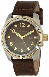 [アンドロイド]Android 腕時計 Naval 45 Analog Display Quartz Brown Watch AD776BGBN メンズ [並行輸入品]