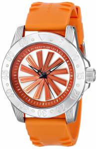 Android Men's AD778ARG Time Machine Sport Edition Analog Display Automatic Self Wind Orange Watch
