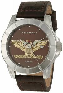 [アンドロイド]Android 腕時計 Bald Eagle Analog Display Automatic Self Wind Brown Watch AD812ABN メンズ [並行輸入品]