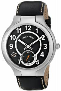 [フィリップ ステイン]Philip Stein 腕時計 Round Analog Display Japanese Quartz Black Watch 42-SB-CSTB メンズ [並行輸入品]