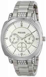 [パルサー]Pulsar 腕時計 Stainless Steel Watch Batteries PP6133 [並行輸入品]