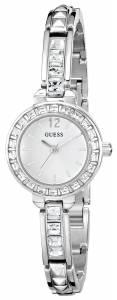 [ゲス]GUESS 腕時計 Elegant SilverTone Jewelry Inspired Watch U0429L1 レディース [並行輸入品]